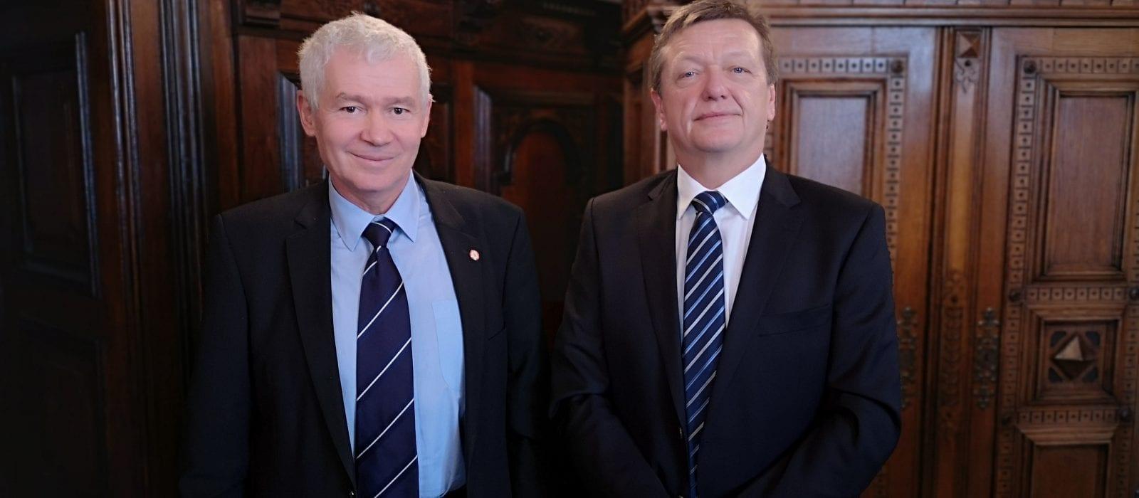 Illustration: Besuch des ungarischen Generalstaatsanwalts bei der Generalprokuratur im Frühjahr 2019