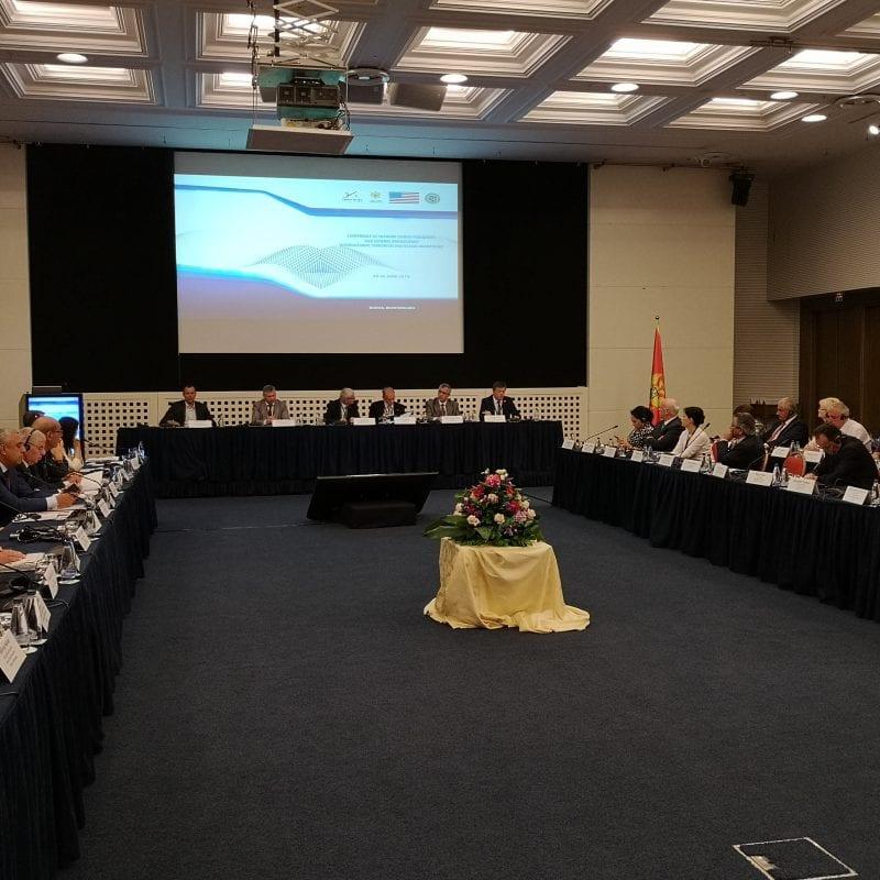 """Foto: """"Terrorismus und illegale Migration"""" – Konferenz in Montenegro"""