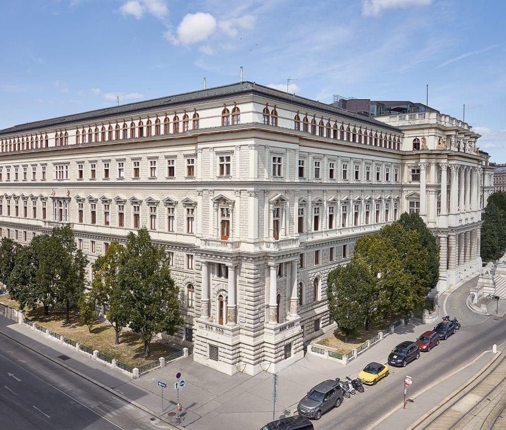 Justizpalast in Wien - Außenansicht