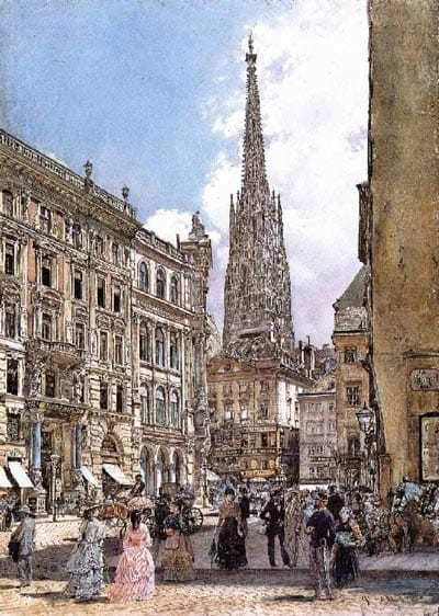 Vienna during the second half of the 19th century<br />