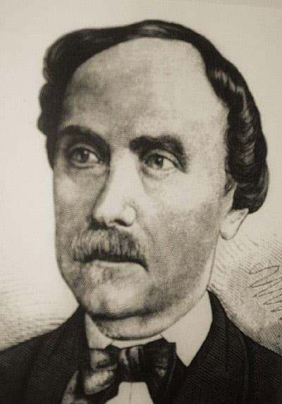 Gemaltes Portrait: Dr. Eduard Ritter von Liszt